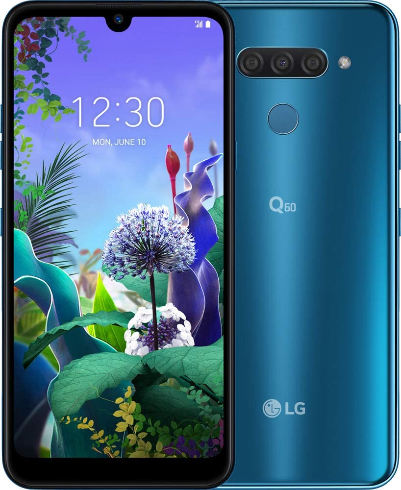 LG Q60 Moroccan Blue