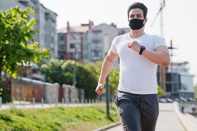 Nueva máscara deportiva de fabricación española
