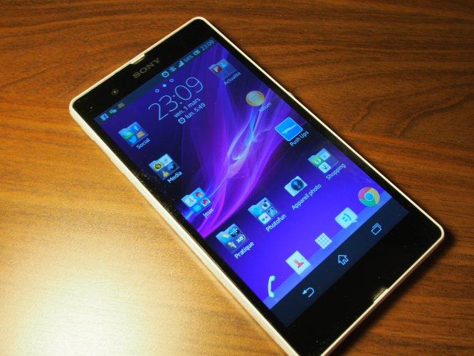 Sony vende 2,3 millones de smartphones en España en 2014