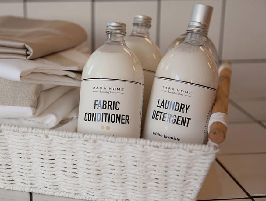 Zara sorprende con nueva línea de detergentes, Zara Home Laundry