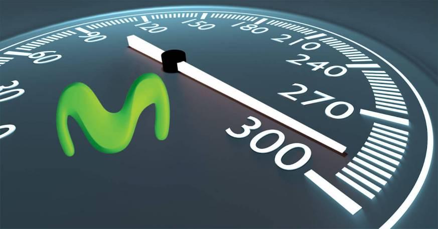 Movistar aumentará  gratis la velocidad de conexiones de fibra óptica