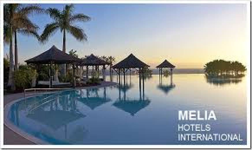 Cadena Hotelera Meliá enfocará la Apertura de Gestiones para el 2018